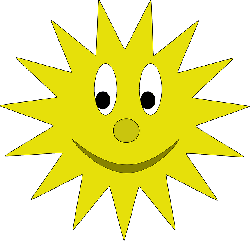 star, yellow, sun, cartoon, shapes, free, smiley