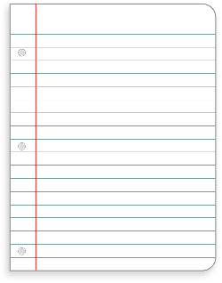 stationery, office, paper, lined, ruled