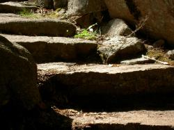 stone steps, path, stairways, stone, old