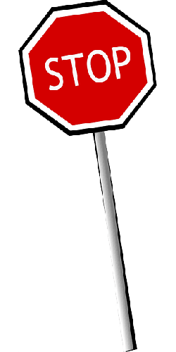 stop, halt, road sign, traffic, right of way, red
