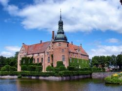 sweden, vittskovle castle, landmark, historic, building