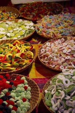 sweets, colourful, sweet, red, yellow, green, pink