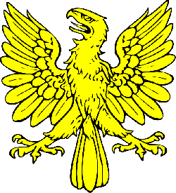 symbol, shield, eagle, bird, gold, coat, arms, crest