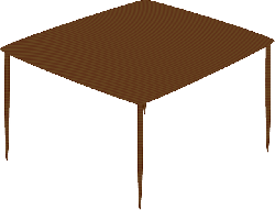 table, wooden, square, furniture, brown