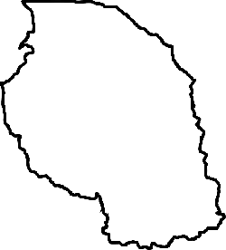 tanzania, africa, map, outline