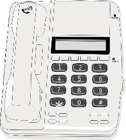 telephone, phone, office, computer, electronics