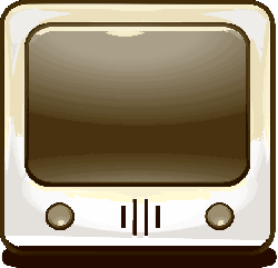 television, tube tv, tv, vintage, simple