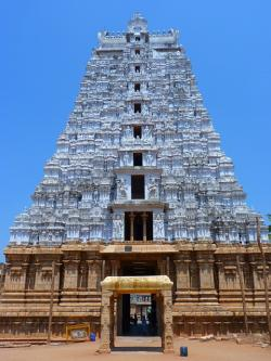 temple, large, tiruchirapalli, trichy, india