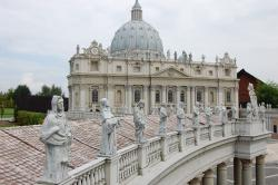 the vatican, vatican, building, miniature, pope