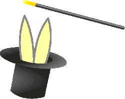 top, people, cartoon, free, bunny, clothing, hat, magic