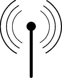 tower, sign, access, point, router, internet, icon