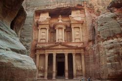 treasury, khazne firaun al, temple, petra, the red