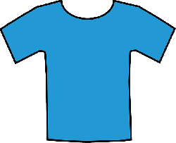t-shirt, clothing, fashion, shirt, blue