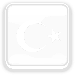 turkey, flag, country, nationality, square, button
