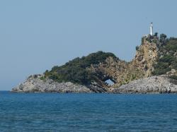 turkey, water, landscape, rock formations, island