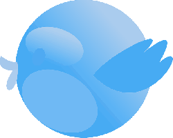 twitter, tweet, bird, cute, blue