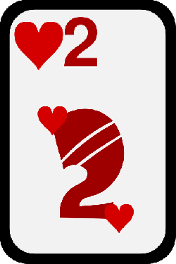 two, casino, game, cards, play, hearts, poker, bet