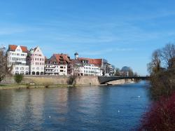 ulm, city, outlook, city view, view, home, homes, sky