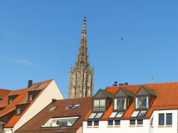 ulm, ulm cathedral, city, outlook, city view