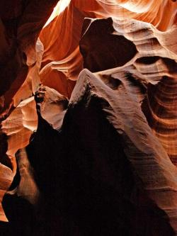 upper antelope slot canyon, page, arizona, usa, desert
