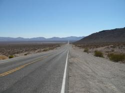 usa, death valley, street