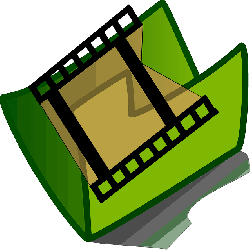 video, icon, folder, movie, theme