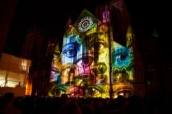 video, mapping, projection, york, minster, building