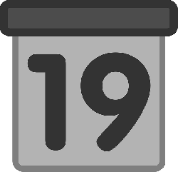 view, flat, day, today, date, calendar, icon