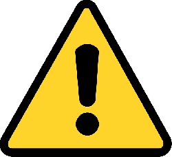 warning, yellow, attention, exclamation mark