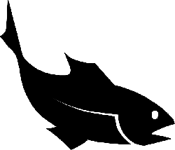 water, black, food, silhouette, fish, ocean, animal
