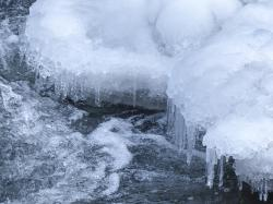 water fall, frozen, ice covered, ice cold, nature