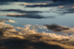 water, reflections, clouds, sky, mirroring
