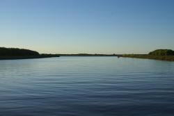 water, river, sky, nature, blue