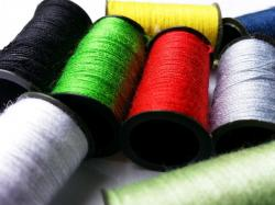 weaving, spool, coil, dressmaking, sewing, color