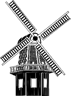 windmill, wind, mill, medieval, machine, wind power