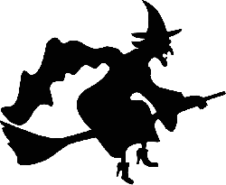 witch, cape, wizardry, witchcraft, broom, broomstick