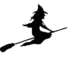 witch, witchcraft, wizardry, broom, broomstick, flying