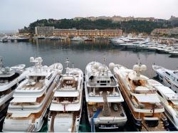 yacht, monaco, pier, port, evening, more expensive