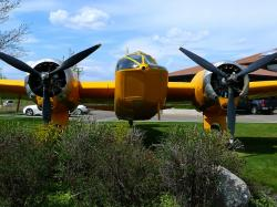 yellow, plane, aircraft, airplane, aviation, old